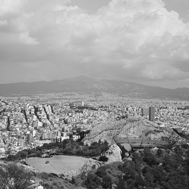 A view of Athens from Licabettus Hill